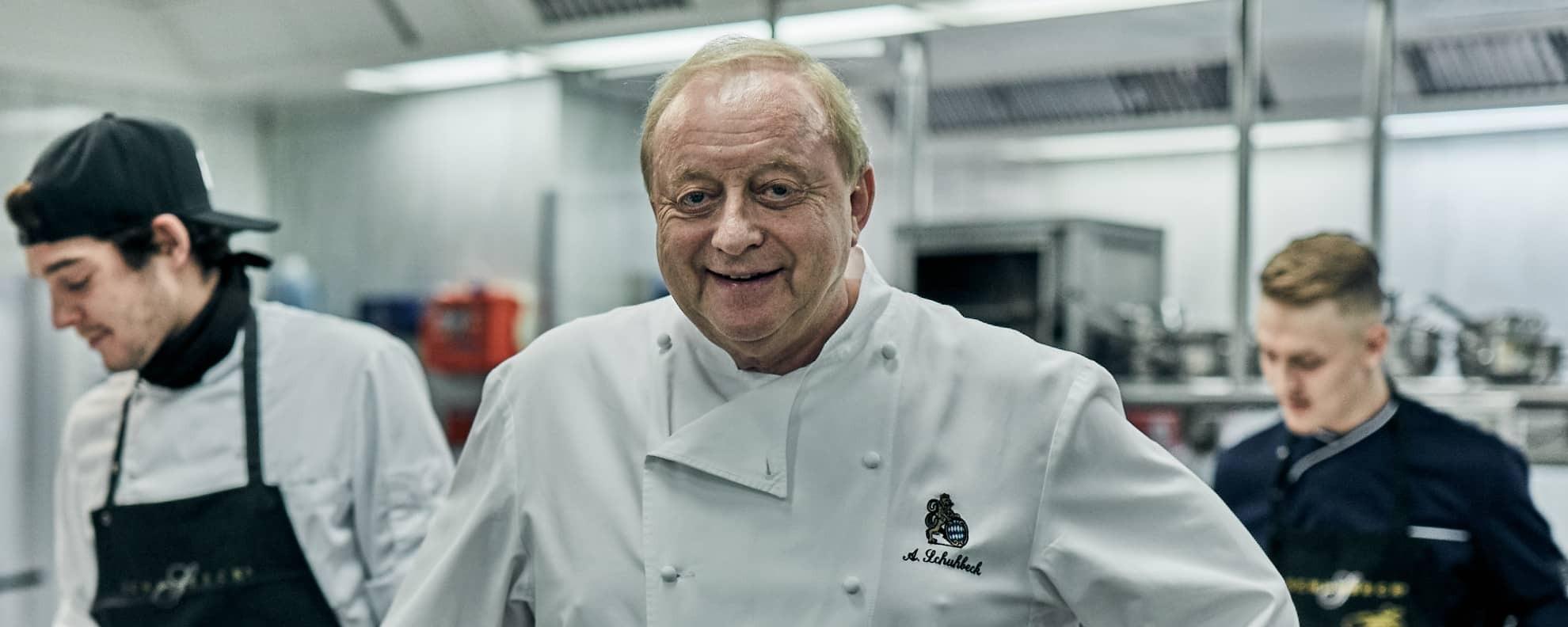 Der Online Kochkurs für alle: Mit Alfons Schuhbeck zum Küchenprofi