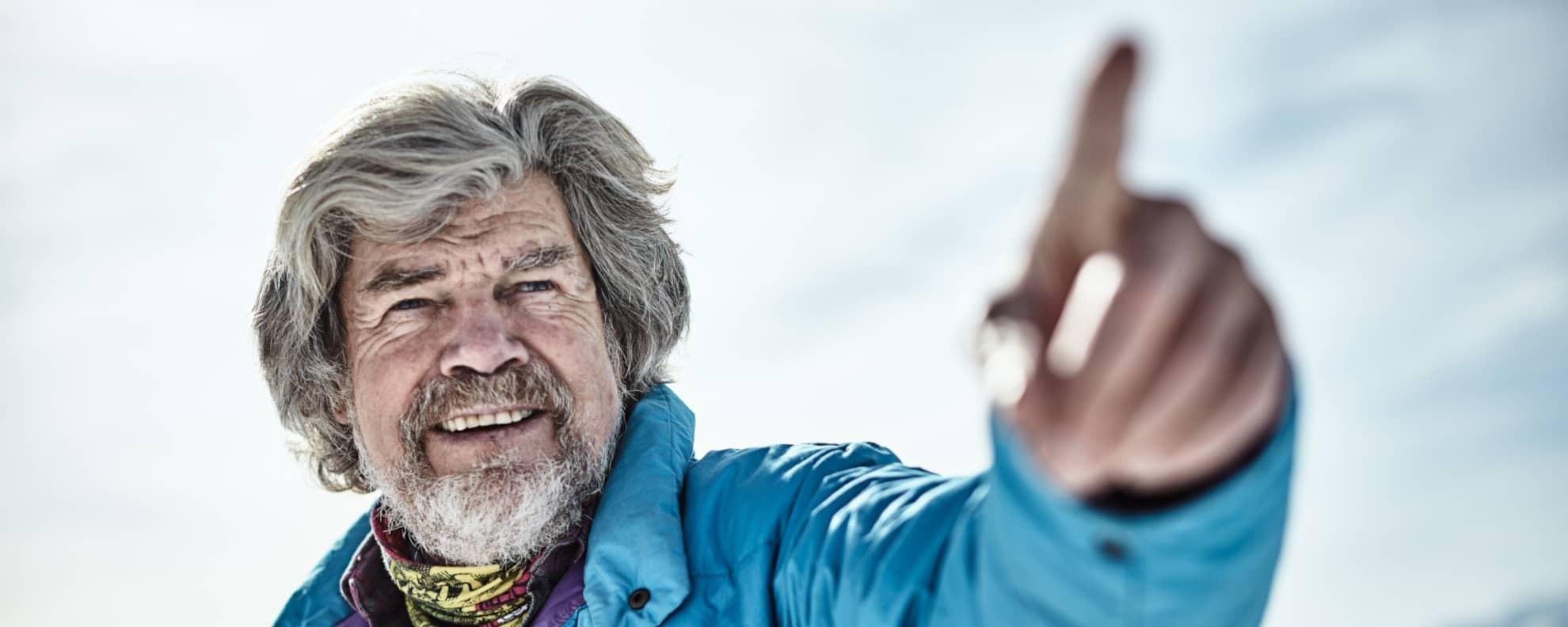 10 inspirierende Sprüche für mehr Motivation von Reinhold Messner