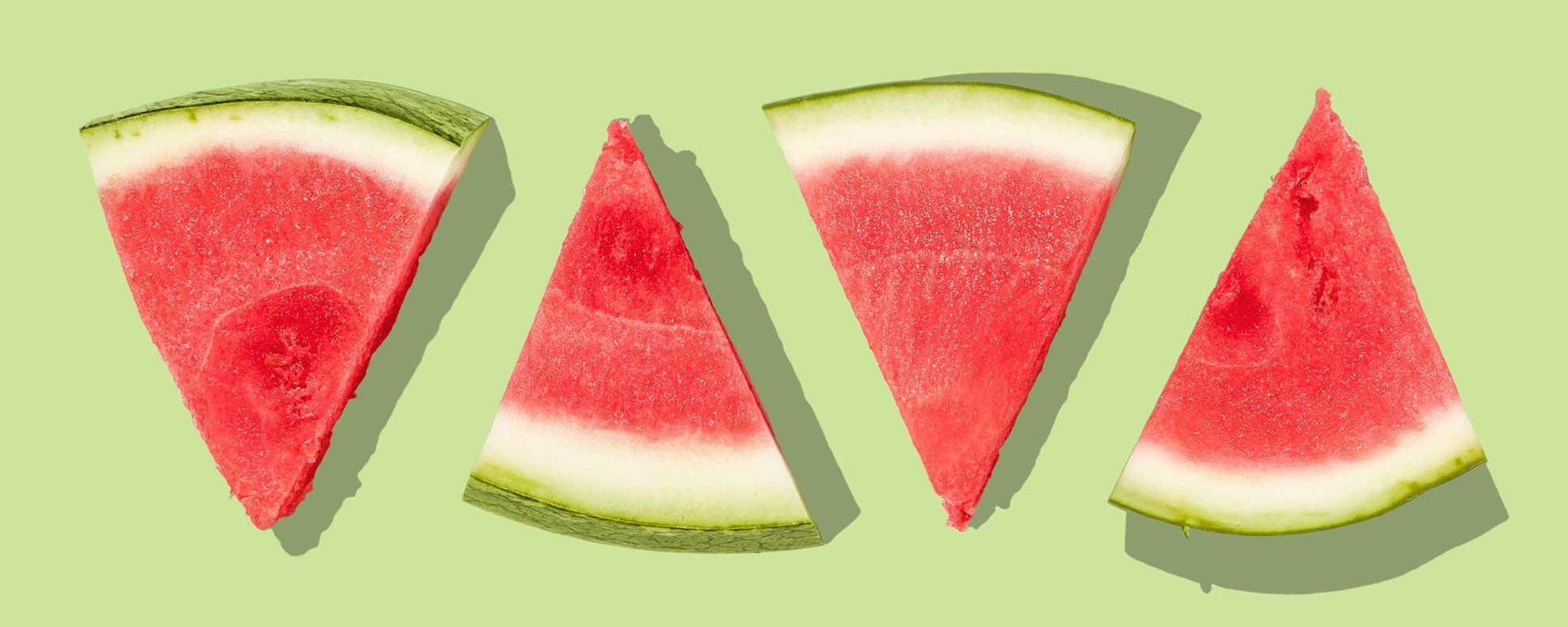 Wassermelone schneiden: 2 einfache Varianten